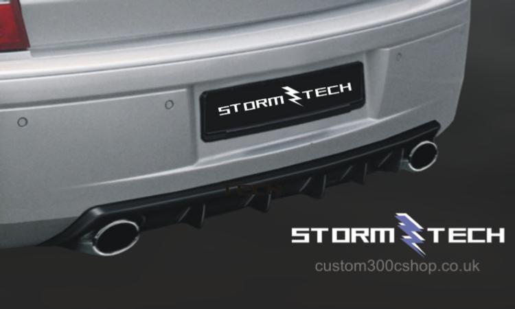 Chrysler 300 Custom >> Chrysler 300c Stormtech Saloon Rear Diffuser