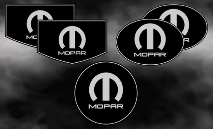 Chrysler 300c Custom Mopar Badges